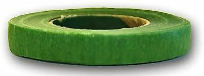 Floristry Stem Tape Floral Wiring Tape Stemtex  Whole box of 12  GREEN crepe