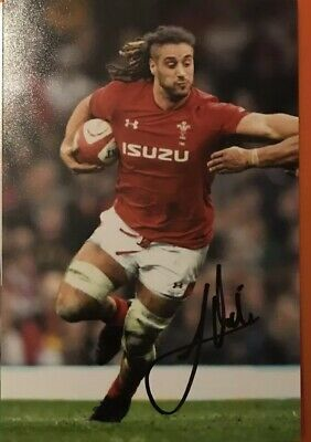 Josh Navidi - Wales Rugby - Six Nations - Signed 6X4 Photo