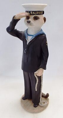 COUNTRY ARTISTS Sailor Figurine MAGNIFICENT MEERKATS DA04140 AINSLIE - M08