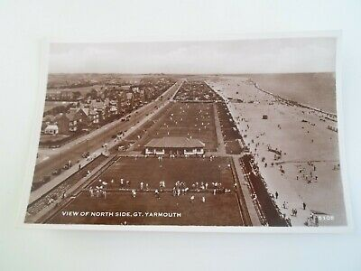 GREAT YARMOUTH, View of North Side (5105)   Vintage RPPC  §E512