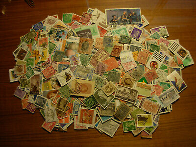 Used Lot Of 1000 Stamps Around The World,  Nice $$$  #m-2