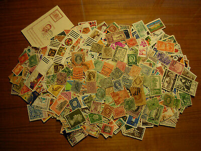 Used Lot Of 1000 Stamps Around The World,  Nice $$$  #m-3