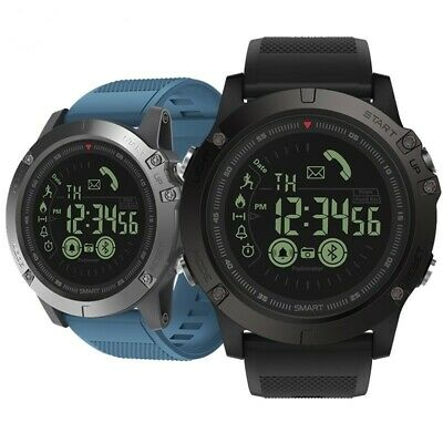 Waterproof Smart Watch Rugged Tactical Bluetooth Smartwatch for iOS Android