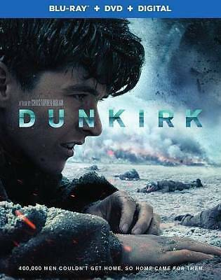 Dunkirk (Blu-ray + DVD + Digital Combo Pack),Acceptable DVD, ,