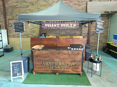 Rustic Look Australian Roast Market Stall (with training see details below)