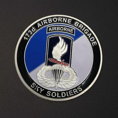 Airborne Division Collection Commemorative Coin Silver Coin Color Metal