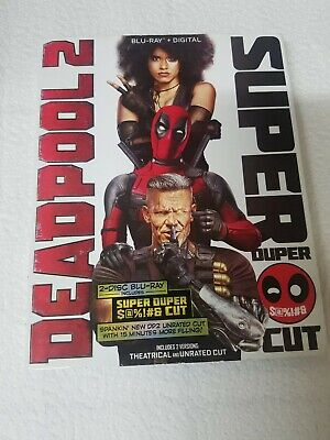 Deadpool 2 Super Duper cut (Blu-ray, 2-Disc Set) MARVEL