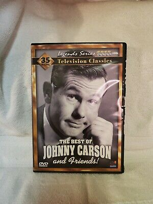 DVD Movie THE BEST OF JOHNNY CARSON TV Classics 4 Disc Box Set B&W 35 eps
