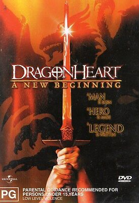 DRAGON HEART - A NEW BEGINNING - DVD - N&S - Never played - PAL - R 4
