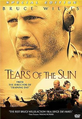 Tears of the Sun (DVD, 2003, Special Edition) LIKE NEW