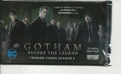 GOTHAM #2 , trading  cards  pack