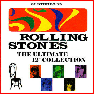 """THE ROLLING STONES  """"The Ultimate 12"""" Collection""""  2-cd  (22 Terrific Mixes!)"""