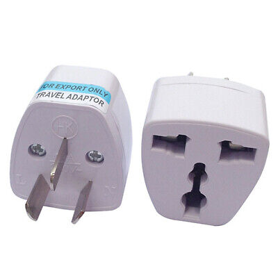 Universal to AU AC Power Plug Adapter Travel 3 pin Converter Australia UK/US/EU