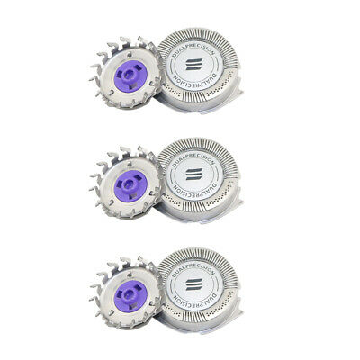 3 x Replacement Shaver Razor Head For Philips Norelco HQ8/52 Heads Blade
