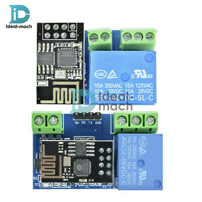 ESP8266 ESP-01S 5V Wifi Relay Module TOI APP Controled For Smart Home Board