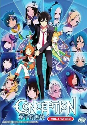 Anime DVD *ENGLISH DUBBED* CONCEPTION VOL.1-12 END Set Japanese Animation GS