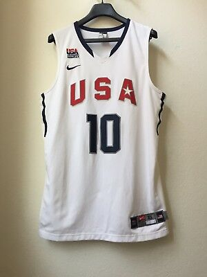 huge selection of 710f9 b173c NIKE 2008 KOBE Bryant Usa Beijing Olympic Dream Redeem Team Authentic  Jersey Xl