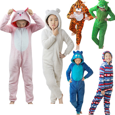 Kid Children's Animal Sleepwear Kigurumi Cosplay Pajamas Unisex Costume Boy Girl