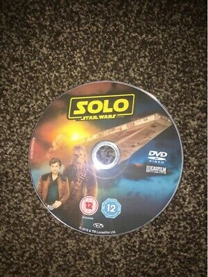 Solo A Star Wars Story [2018] [DISC ONLY DVD]