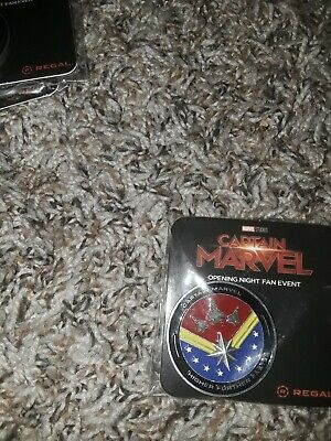 Captain Marvel (2019) Collectable Coin (PAINTED) Fan Event