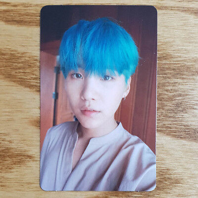 Suga Official Photocard BTS Love Yourself Her L Version Kpop Genuine