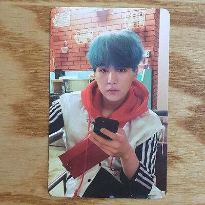Suga Official Photocard BTS Love Yourself Her E Version Kpop Genuine