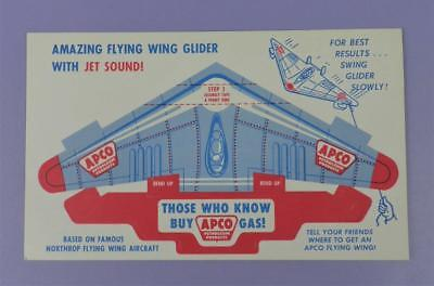 APCO FLYING WING GIVE-AWAY TOY