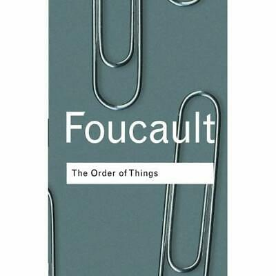 Order of Things: An Archaeology of the Human Sciences - Paperback NEW Foucault,