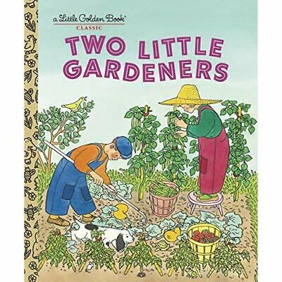 Two Little Gardeners (Little Golden Book Classic) - Hardcover NEW Brown, Margare