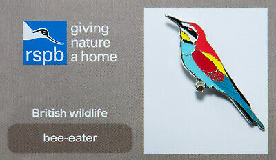 RSPB Pin Badge | bee eater GNAH (00048)