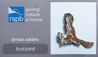 RSPB Pin Badge | buzzard GNAH (00104)