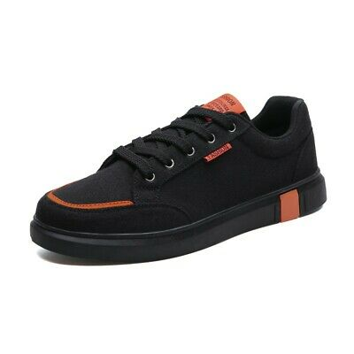 finest selection 3e678 e8f75 Mens Canvas sneakers Board Flats Lace Up Round Toe Dunk Low Casual Solid  Outdoor