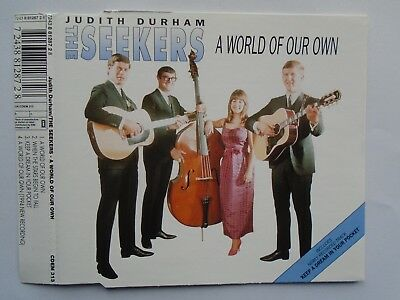 Judith Durham / The Seekers - A World Of Our Own (CD Single 1993) VG cond