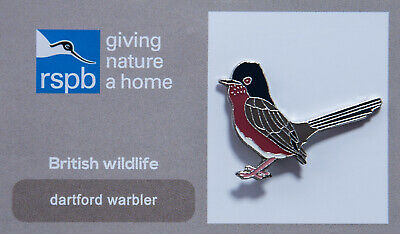 RSPB Pin Badge | Dartford warbler GNAH (00163)