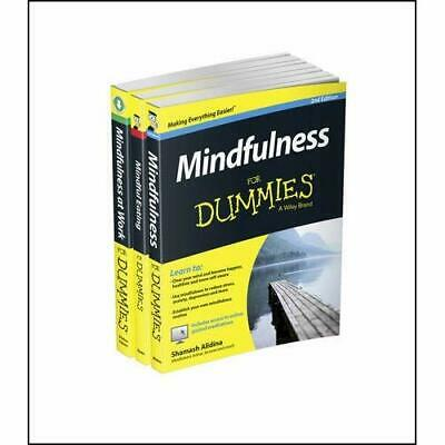 Mindfulness For Dummies Collection - Mindfulness For Du - Paperback NEW Shamash