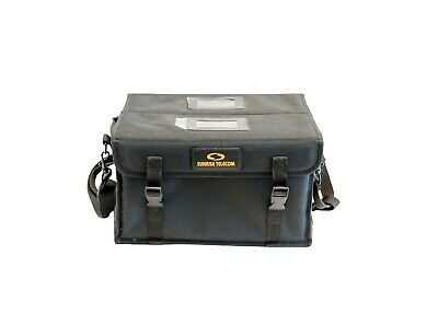 Sunrise Telecom Double-sided Black Test Equipment Carrying Case
