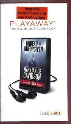 Undead and Unforgiven by MaryJanice Davidson Unabridged Playaway Audio Book