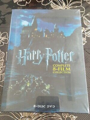 2011, 8-Disc Set  Harry Potter Complete 8-Film Collection DVD, (FREE SHIPPING)