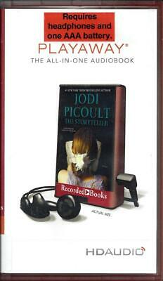 The Storyteller by Jodi Picoult and Suzanne Toren Unabridged Playaway Audio Book