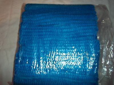 500 Arco Essentials BLUE Mob Cap / hat one size disposable ideal spray tan