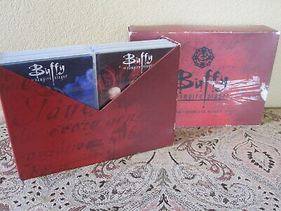 Buffy The Vampire Slayer Complete Series Boxes Dvd Set Previously Viewed