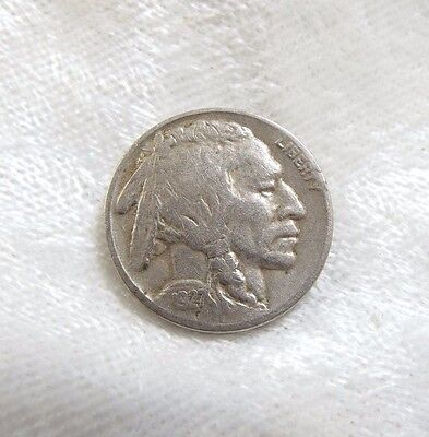 1927-S Buffalo Nickel  VF (VERY FINE)  5-Cents