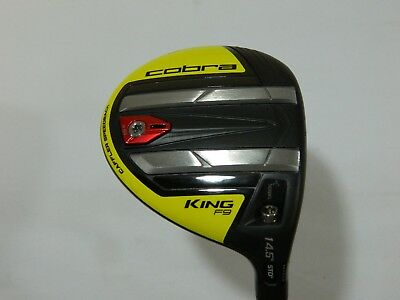 2019 COBRA KING F9 Speedback 3-4 Fairway Wood Yellow FJ Atmos Regular