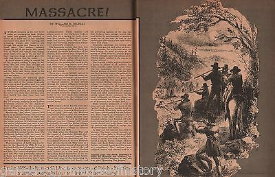 The Clear Lake Indian Massacre of California+Anderson,Beale,Brown, Buck, LaAche,