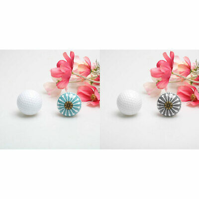 Ceramic Knobs Drawer Round Pull Handle for Cupboard Wardrobe Dresser Replacement