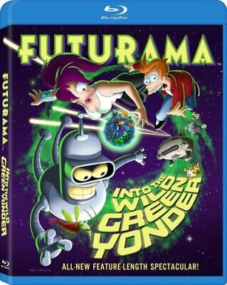Futurama: Into the Wild Green Yonder [Blu-ray] [2009] [US Import] -  CD IIVG The