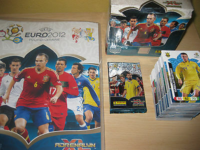 Adrenalyn Euro 2012 (Equipo Completo,Goal Stoppers,Fans' Favourite,Top Master)