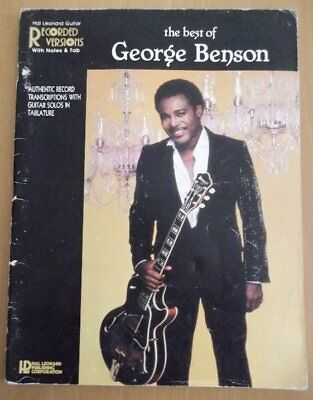 The very best of George Benson Guitar book