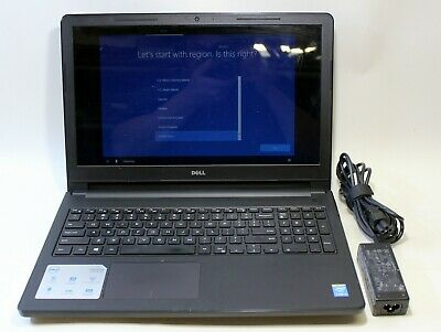 "Dell Inspiron 15 3558 Laptop 15.6"" 2.10GHz Core i3-5015U 4GB Ram 320GB HDD Win10"