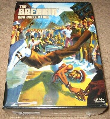 The Breakin DVD Collection 4-Disc Set NEW R1 OOP SEALED USA Break Dancing MGM